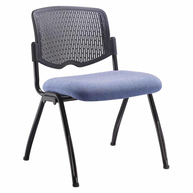Learniture Plastic Back Tablet Arm Nesting Chair with folding seat