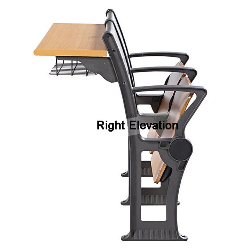 University Classroom Ladder Room Chairs With Desks School Rows Education for Lecture Hall