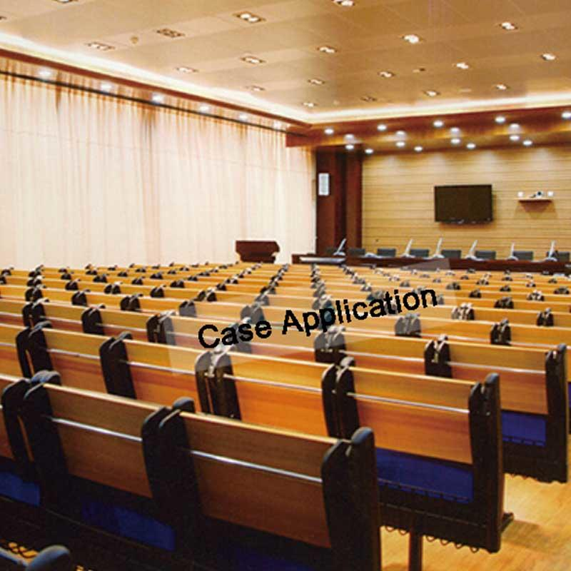 Xinyilong Furniture popular classroom table and chair rows for students