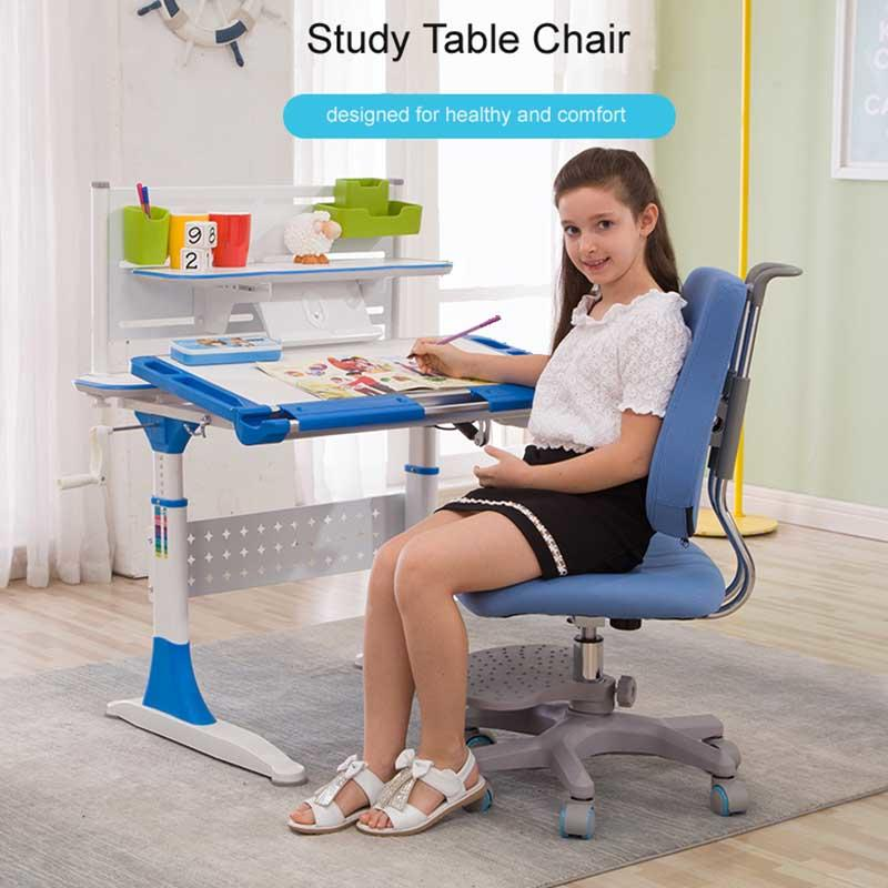 Best quality furniture adjustable height swivel children study chair
