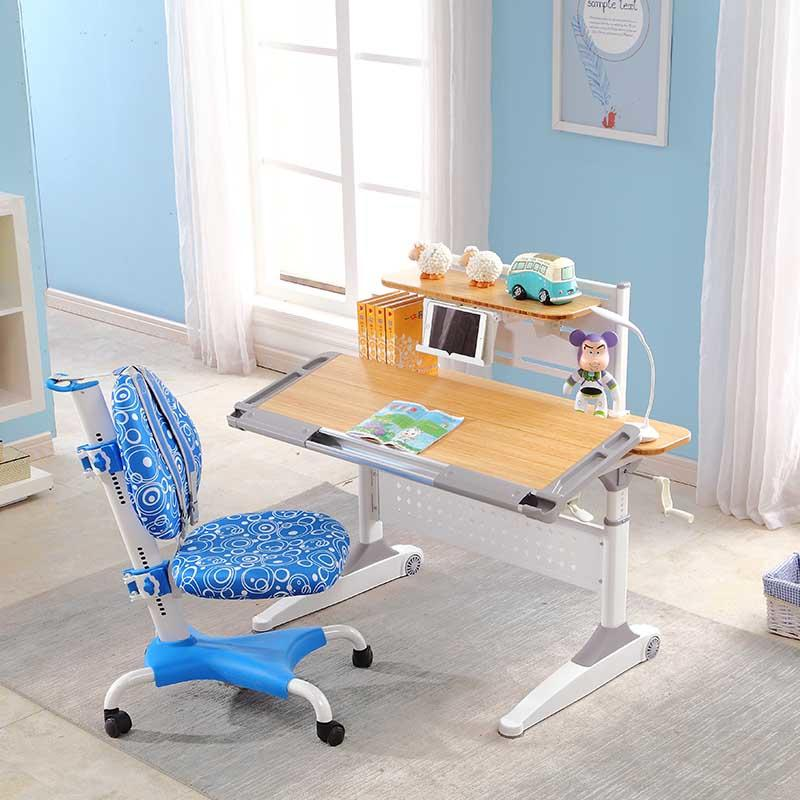 Height adjustable study table ergonomic Kids Drawing Table