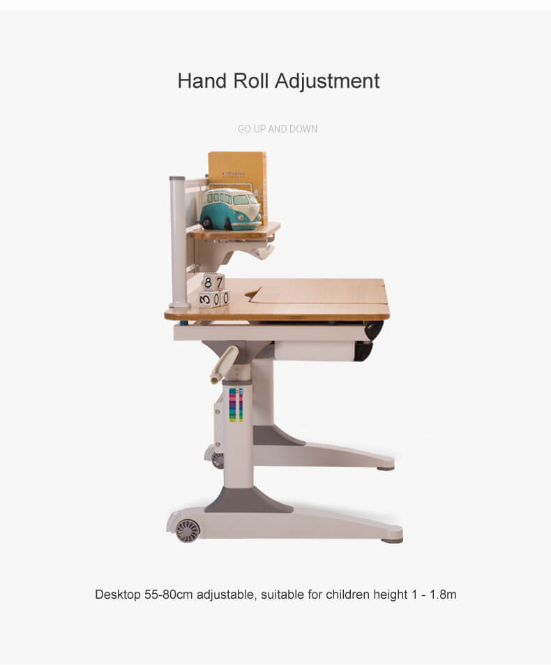 TBCZ professional adjustable height children's desk high quality for children-6