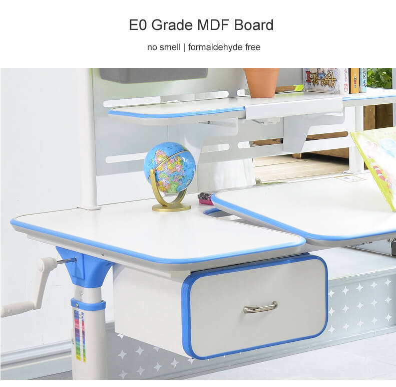 design wooden study table for sale for kids Xinyilong Furniture