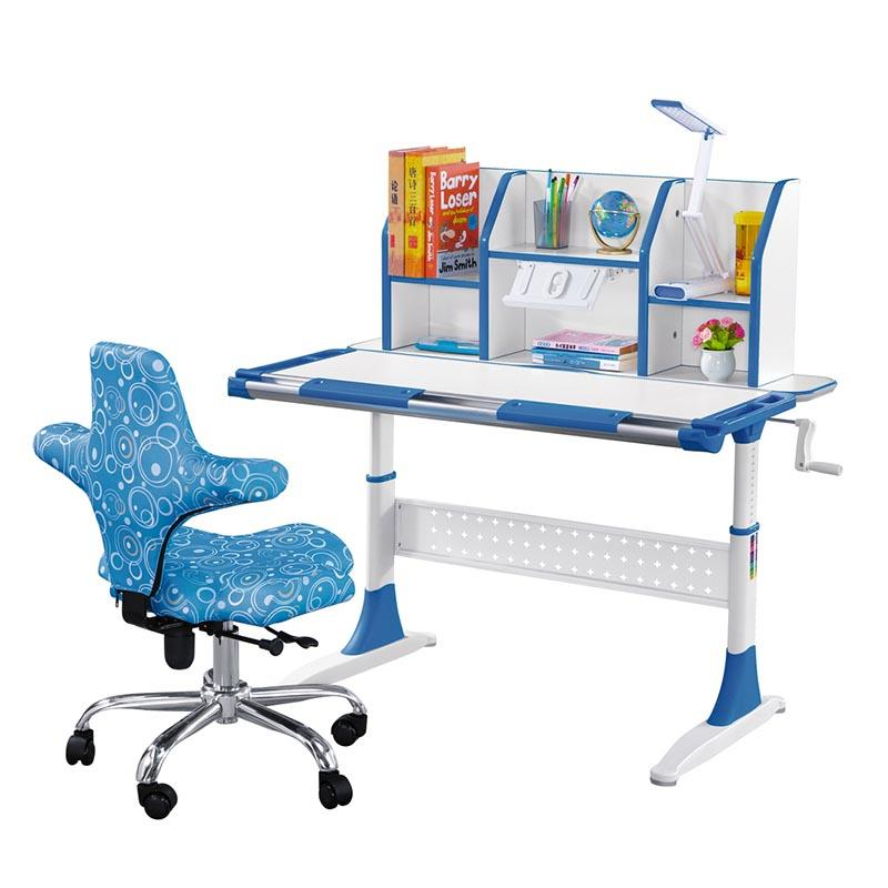 Ergonomic Design Children Desk with Height Adjusting and Tilting Desktop