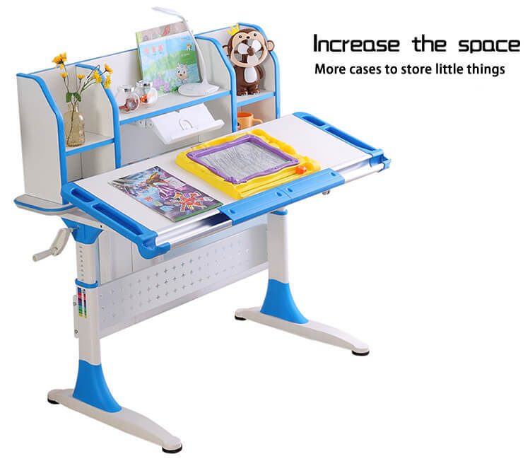 comfortable office table for sale with storage for children