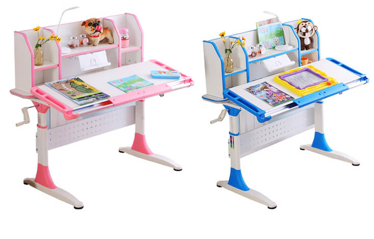 comfortable office table for sale with storage for children-5
