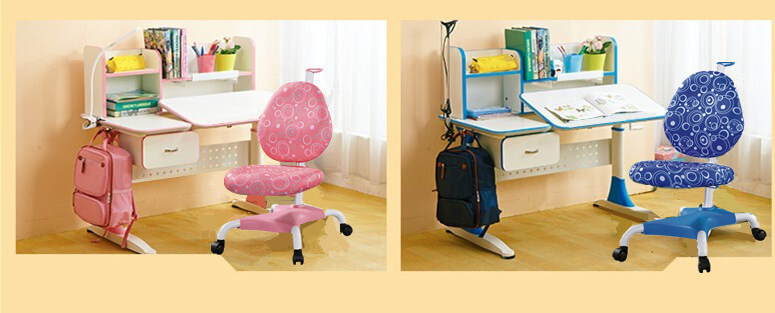 comfortable adjustable height children's desk high quality for kids-9