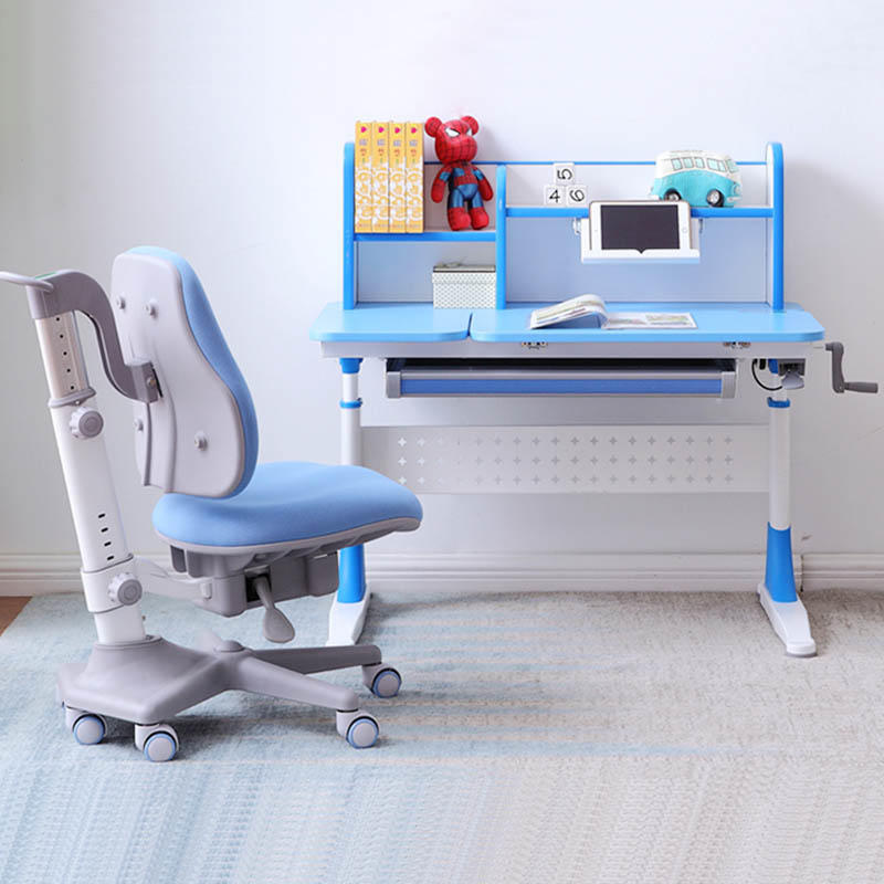 Kids Desk Set Height Adjustable Children's Study Table Work Station