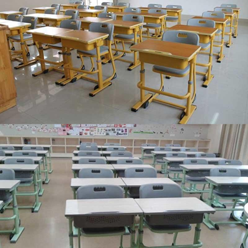 School Chair and Desk in Vietnam
