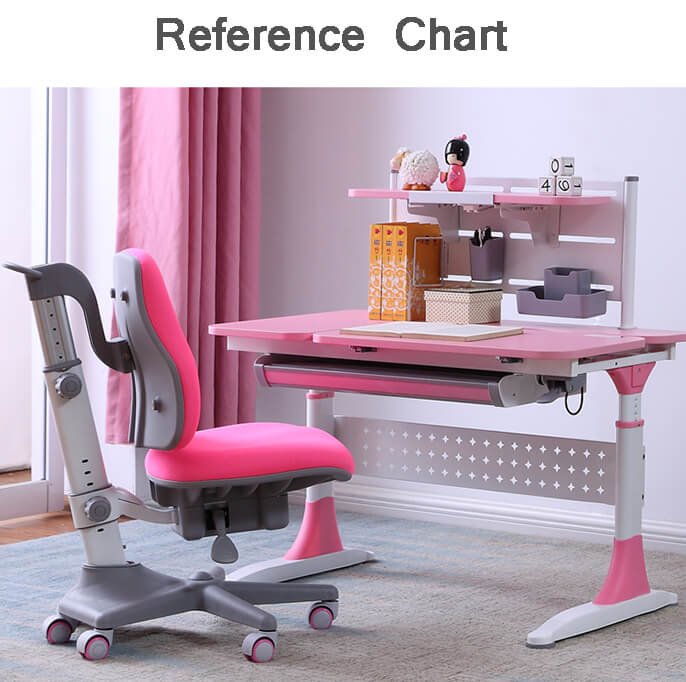 comfortable student desk adjustable height high quality for children-6