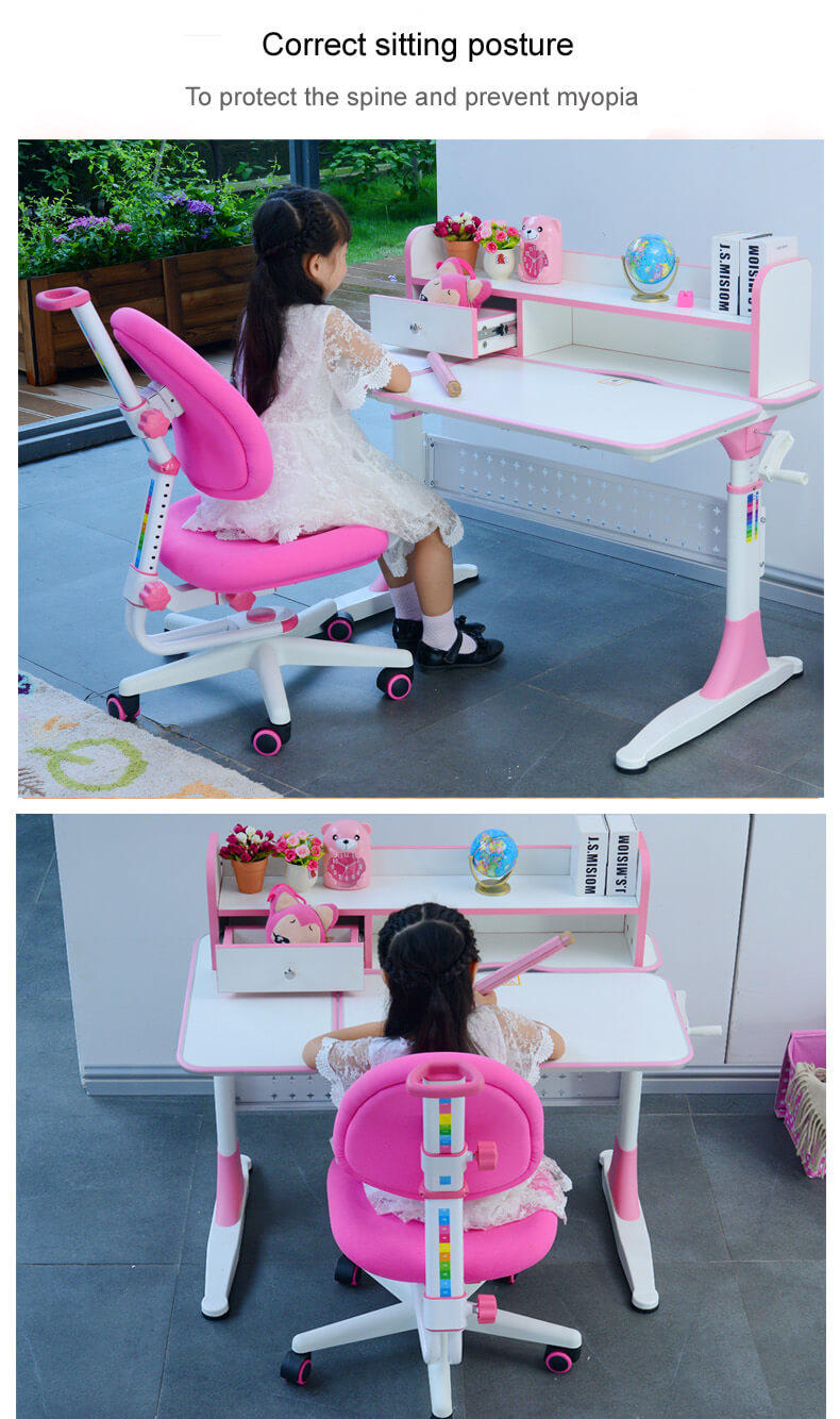 Xinyilong Furniture ergonomic study desk high quality for kids-3