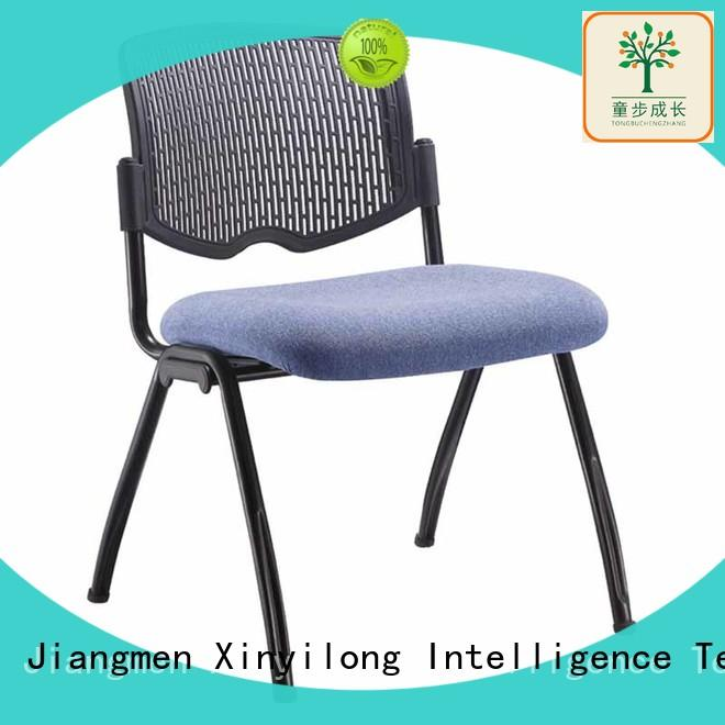stable training chair with wheel for lecture