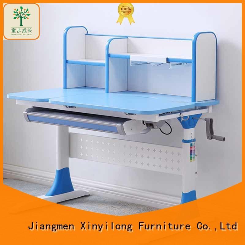 Kids Desk Set Height Adjustable Children's Study Table Work Station