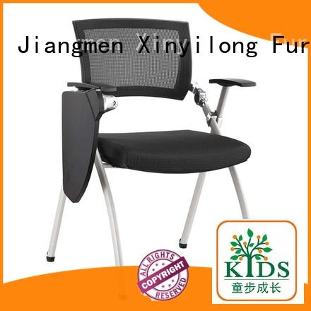 Xinyilong Furniture stable meeting chair with wheel for lecture