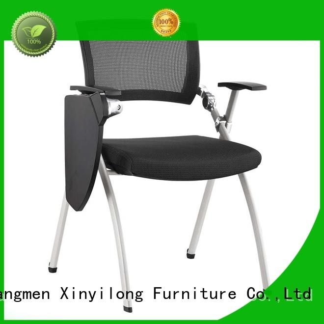 plastic training chair office for students Xinyilong Furniture