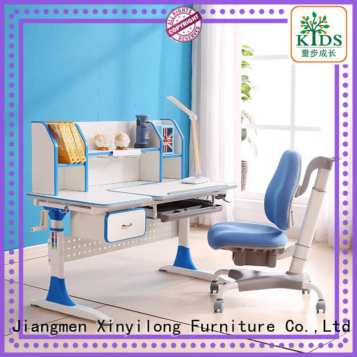 Xinyilong Furniture children study table with storage for home