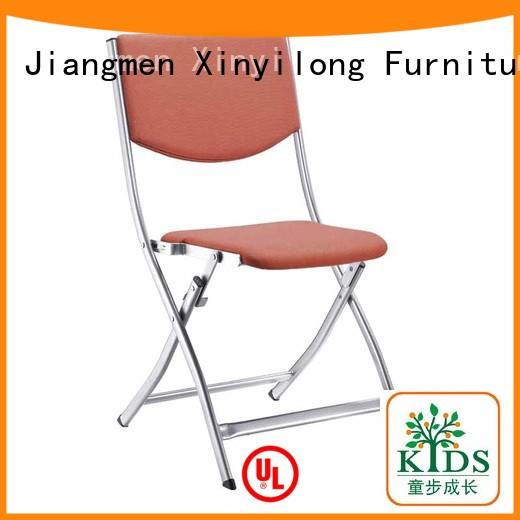 practical visitor chair with wheel for students