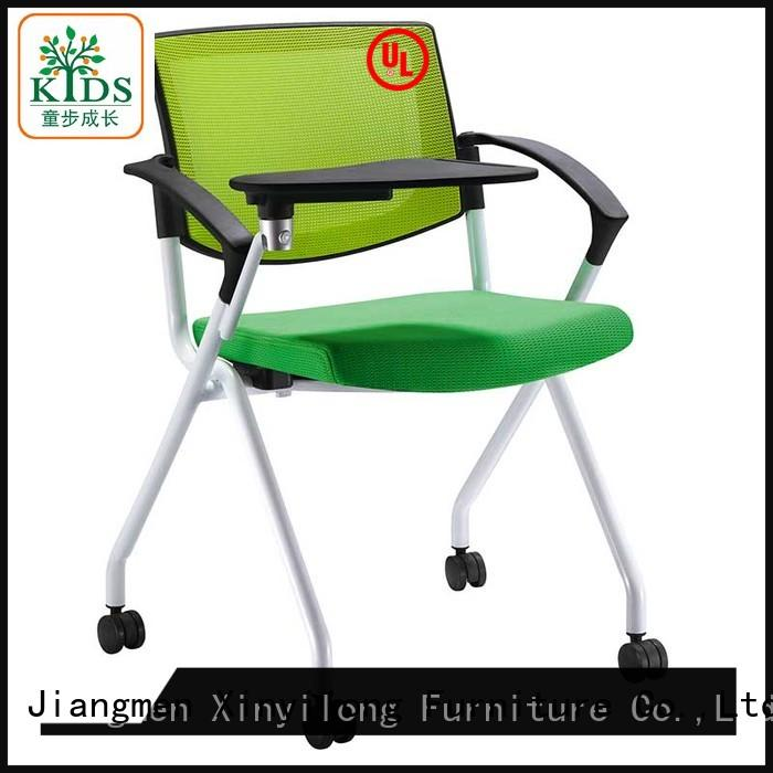 Xinyilong Furniture training room chair with wheel for students