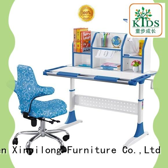 washable wooden study table high quality for school