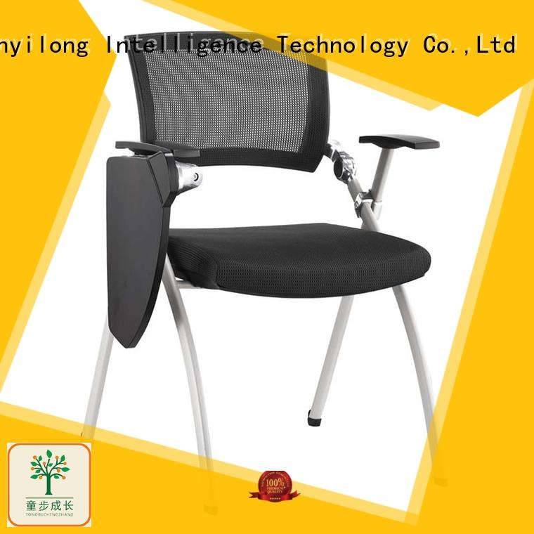 foldable chairs for conference room with wheel for college