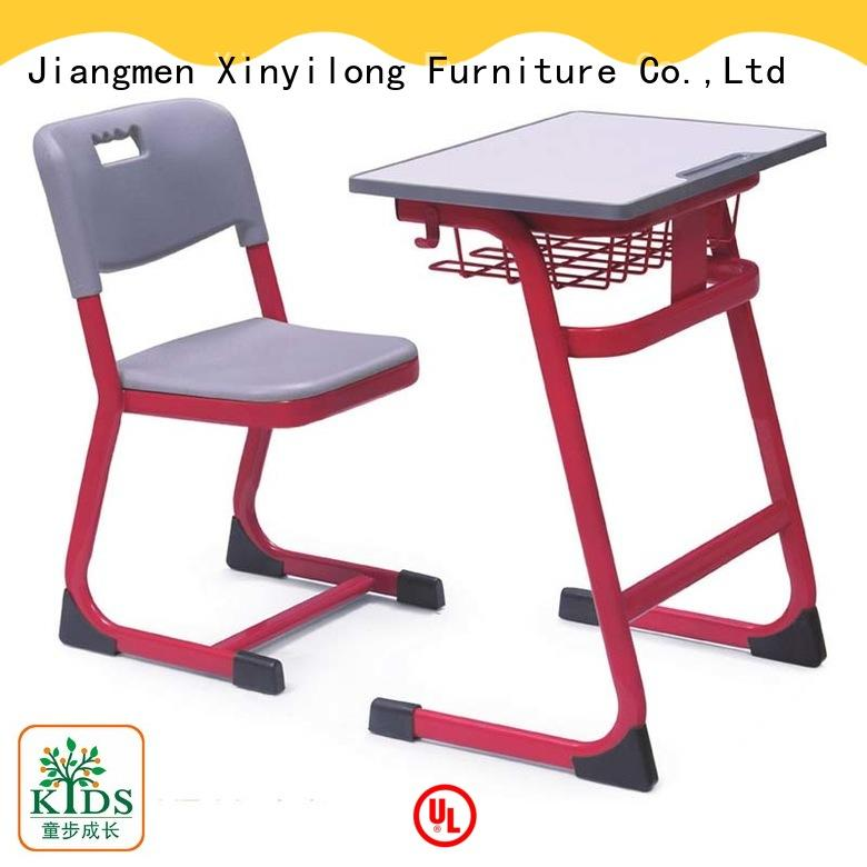Xinyilong Furniture kids desk and chair set height adjustable for college