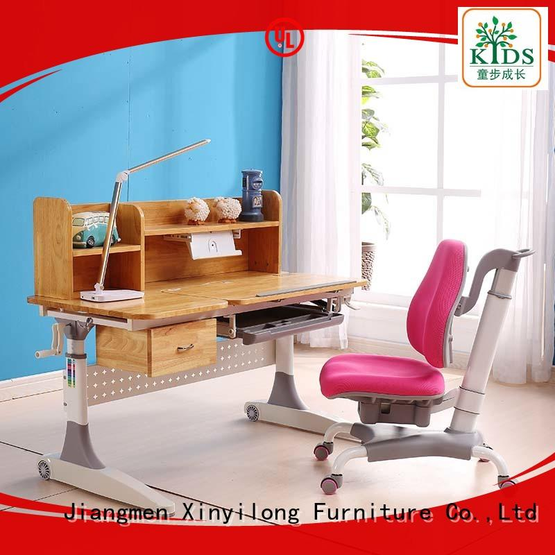 Xinyilong Furniture study table for bed with storage for school
