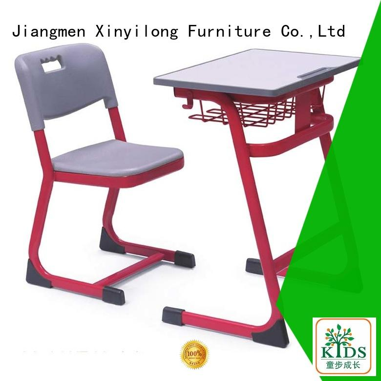 Xinyilong Furniture Brand student childrens school desk and chair set lecture supplier