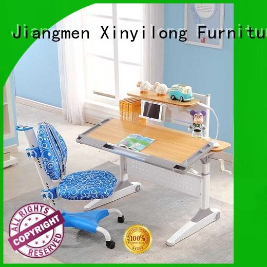 washable solid wood desk for sale for school Xinyilong Furniture