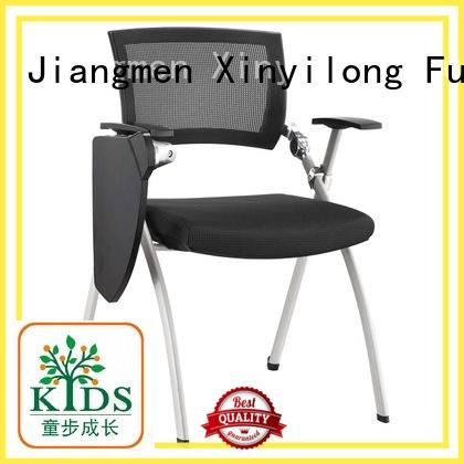 Hot sled foldable chairs for sale office versatile Xinyilong Furniture Brand