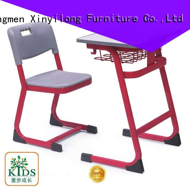 high school chair and desk front for lecture Xinyilong Furniture
