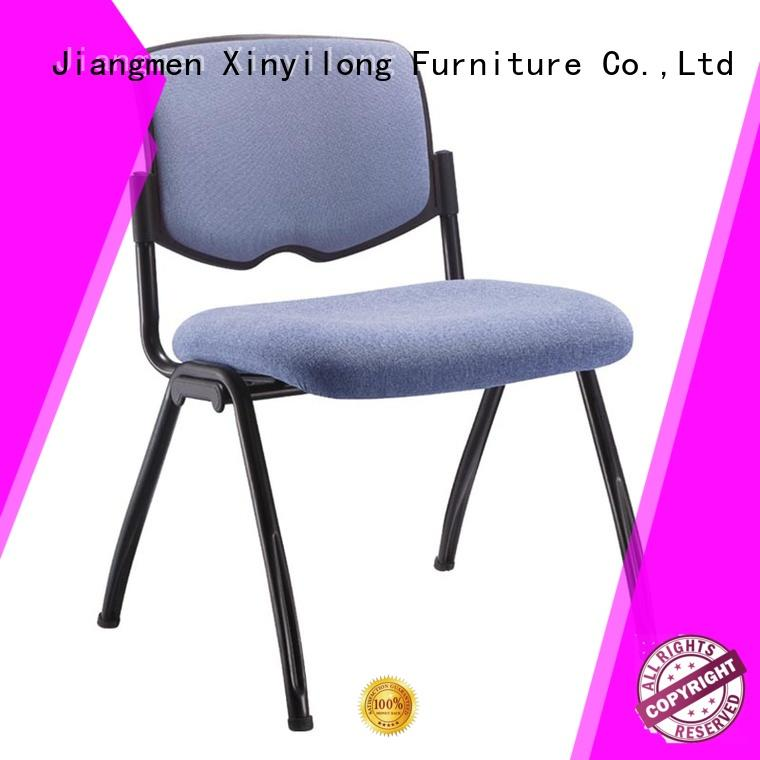 training seat breathable foldable chairs for sale public Xinyilong Furniture Brand