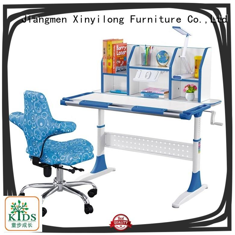 Xinyilong Furniture popular kids office desk with storage for school