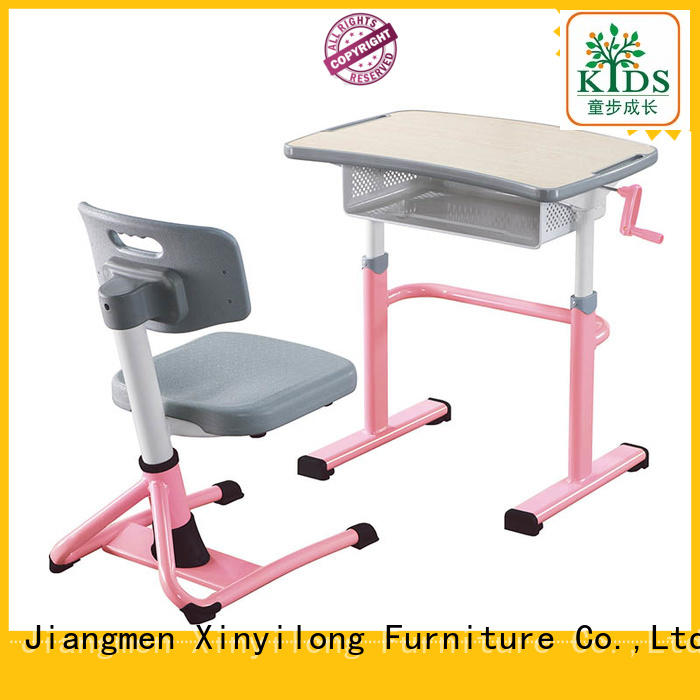 Xinyilong Furniture classroom table and chair onlion for classroom