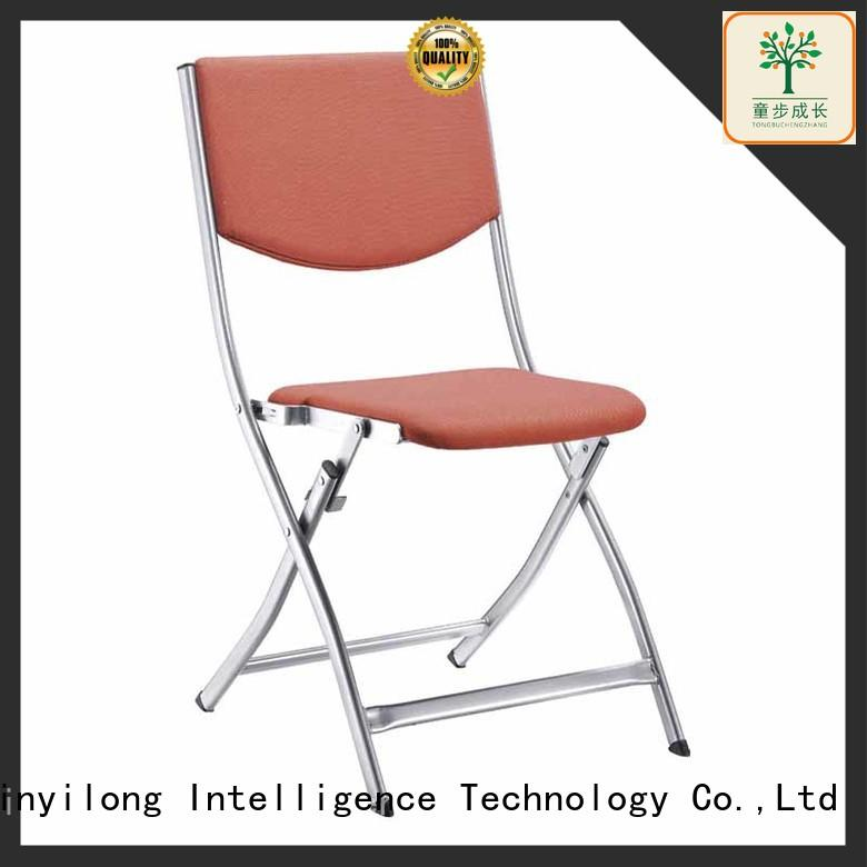 comfortable training chair with wheel for lecture