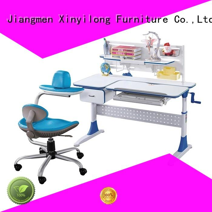 grows station Xinyilong Furniture Brand study table furniture design factory