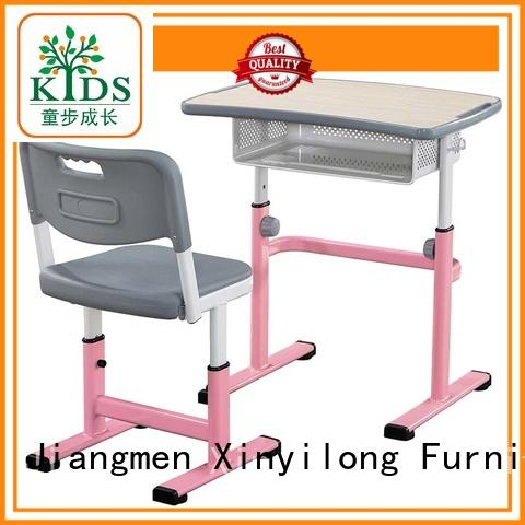 Xinyilong Furniture popular classroom table and chair onlion for students