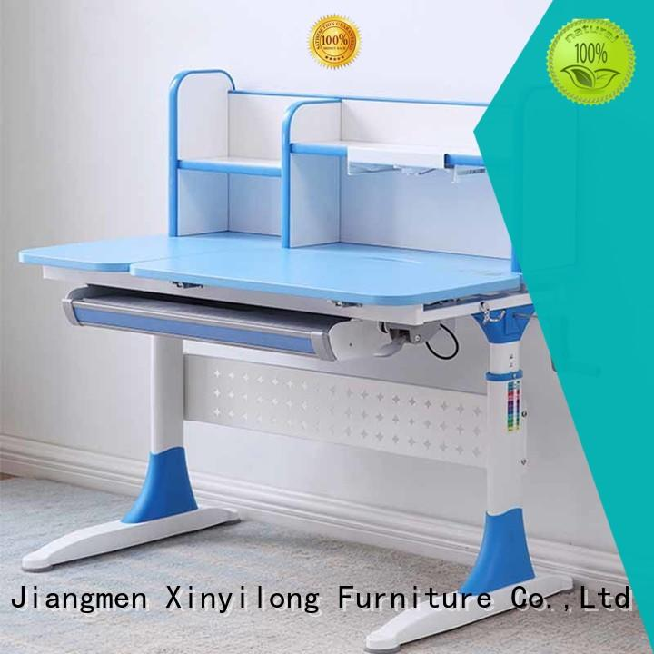 Quality Xinyilong Furniture Brand storage study table and chair