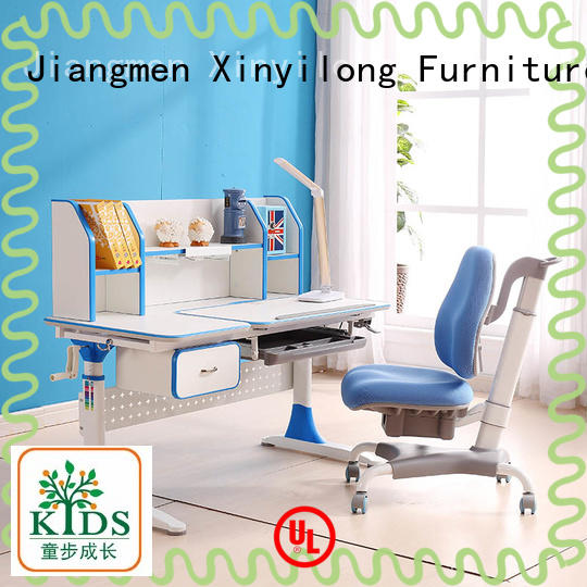 washable children study table with storage for kids