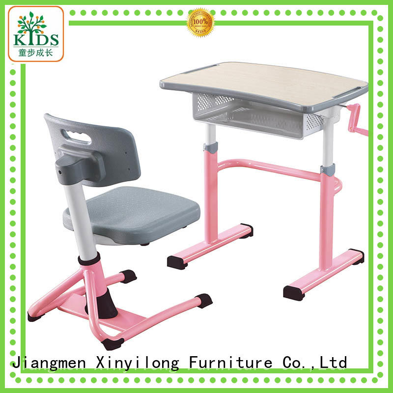 Xinyilong Furniture professional classroom table and chair onlion for lecture
