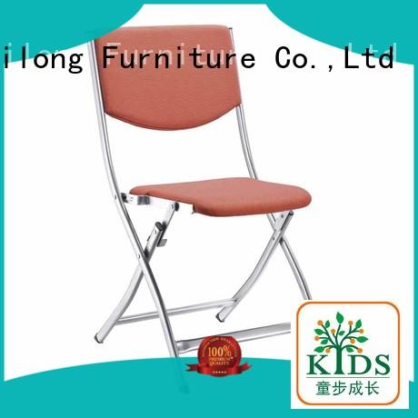 Xinyilong Furniture stable plastic dining chairs with wheel for college