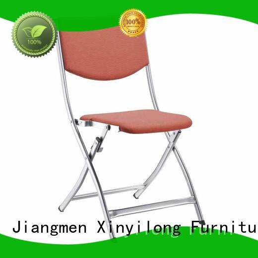 Hot foldable chairs for sale braced Xinyilong Furniture Brand