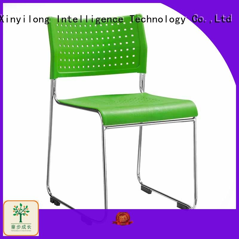 TBCZ comfortable foldable chair with wheel for college