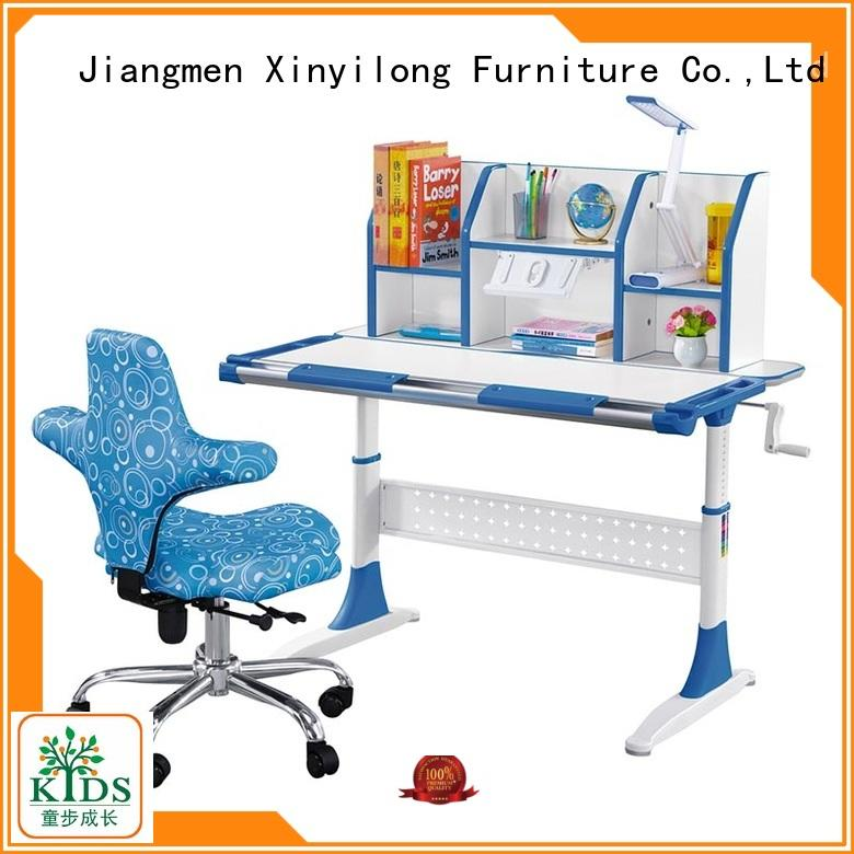 Xinyilong Furniture popular study table designs for students with storage for kids
