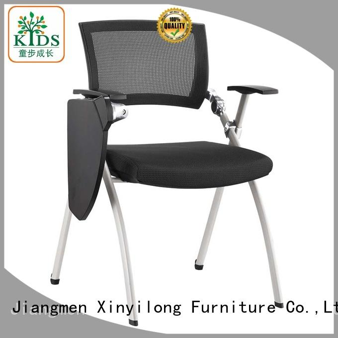 Xinyilong Furniture practical kids plastic chairs with wheel for students