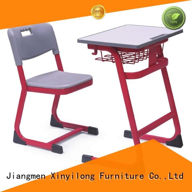 school kids desk and chair set factory