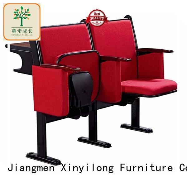 Aluminum student chair table  furniturefolding student chair for college