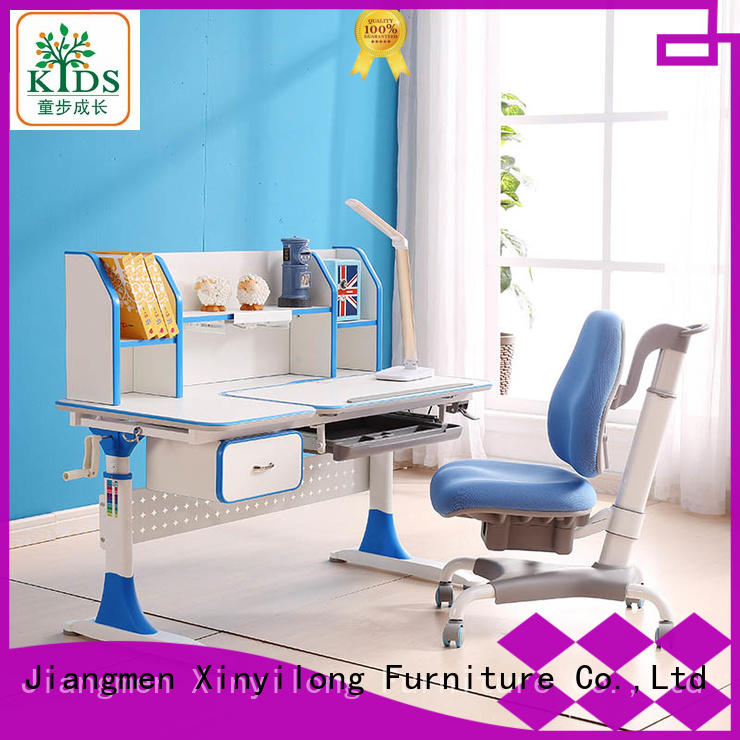 Xinyilong Furniture Brand modern chair children study table furniture design adjustable