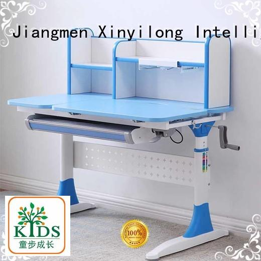 TBCZ adjustable height children's desk with storage for home