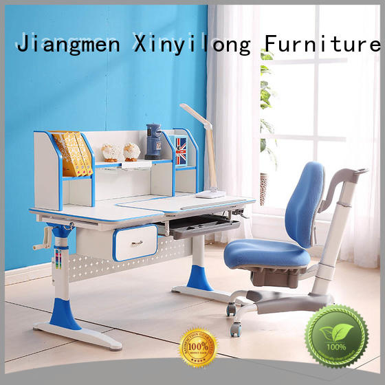 Xinyilong Furniture storage functional table high quality for kids
