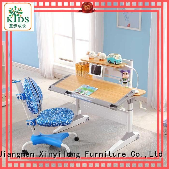 Xinyilong Furniture washable student desk adjustable height high quality for school